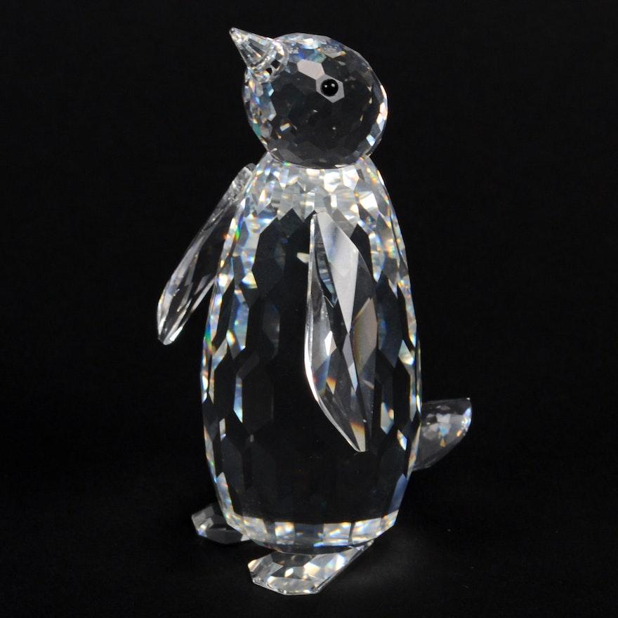 c14755334 Swarovski Silver Crystal Penguin | EBTH