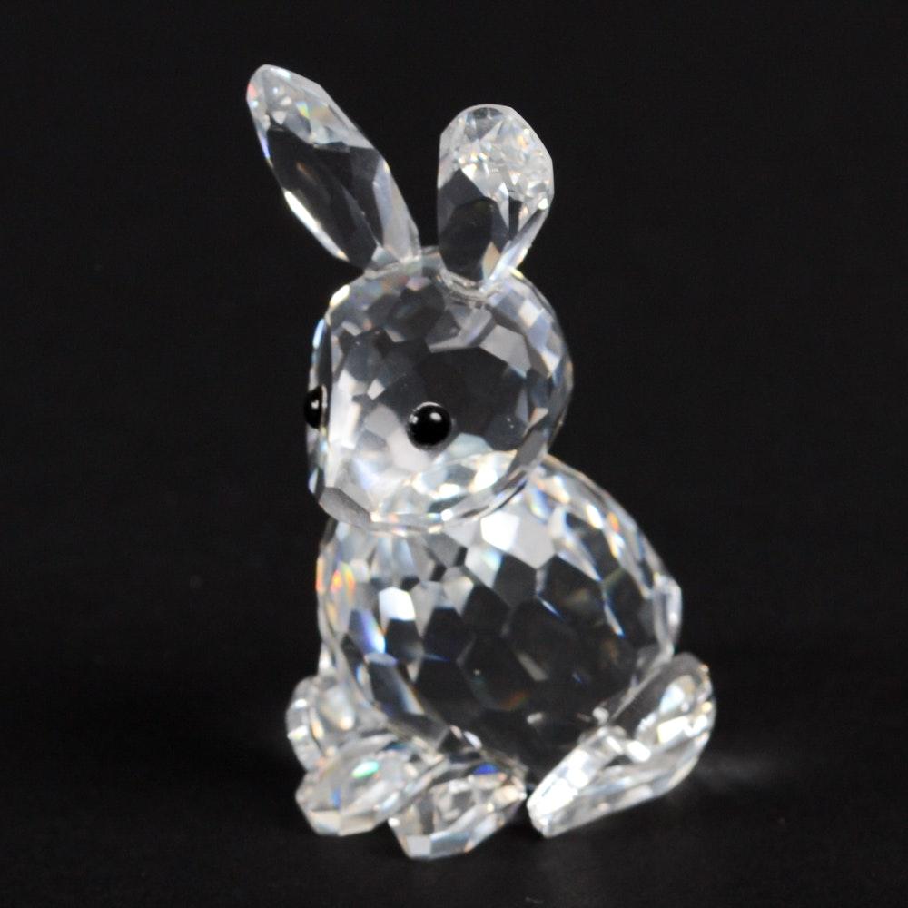 """Swarovski Crystal """"Mother Rabbit"""" Figurine"""