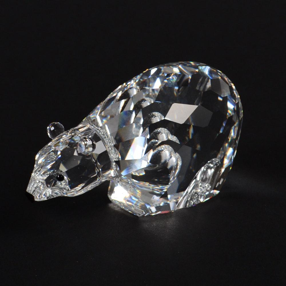 Swarovski Crystal Polar Bear Figurine