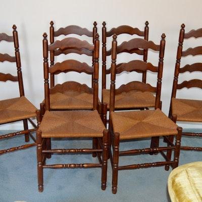 Shaker Style Ladder Back Chair Ebth