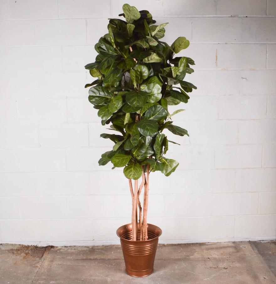 Faux Fiddle Leaf Tree Ebth