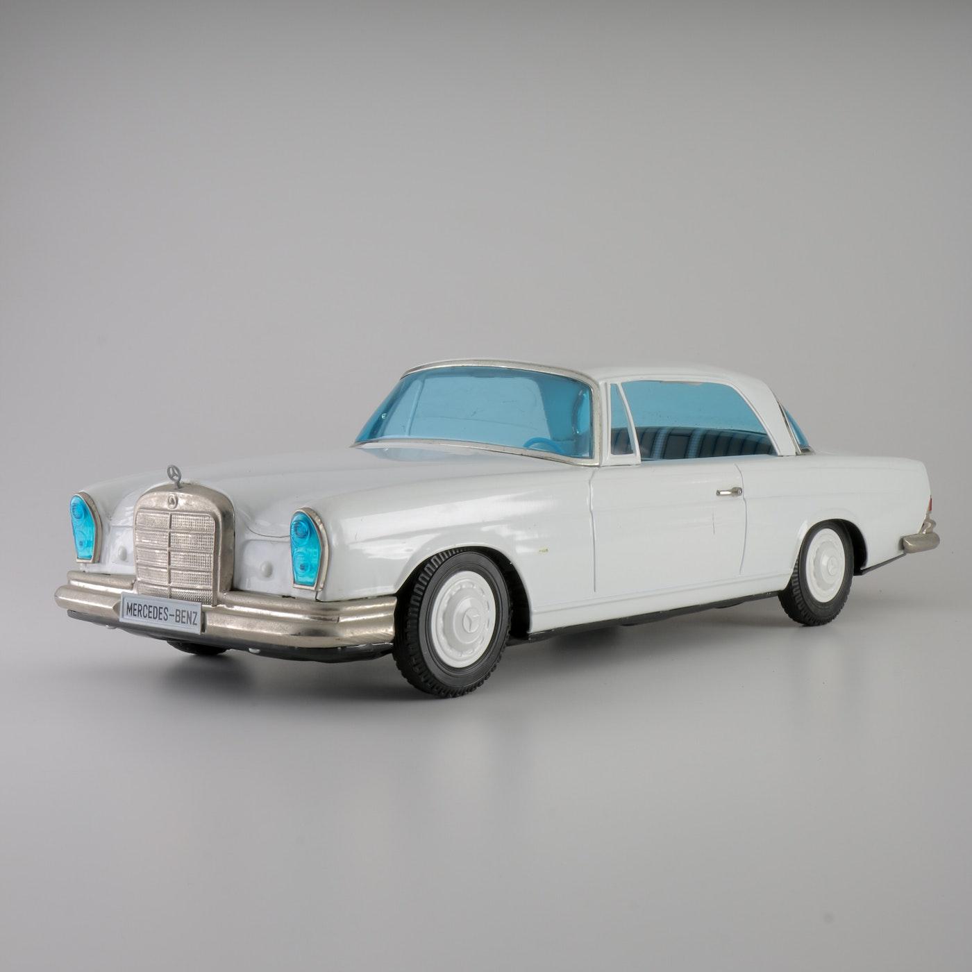 Mercedes benz 230 sl tin friction car ebth for Mercedes benz stuff