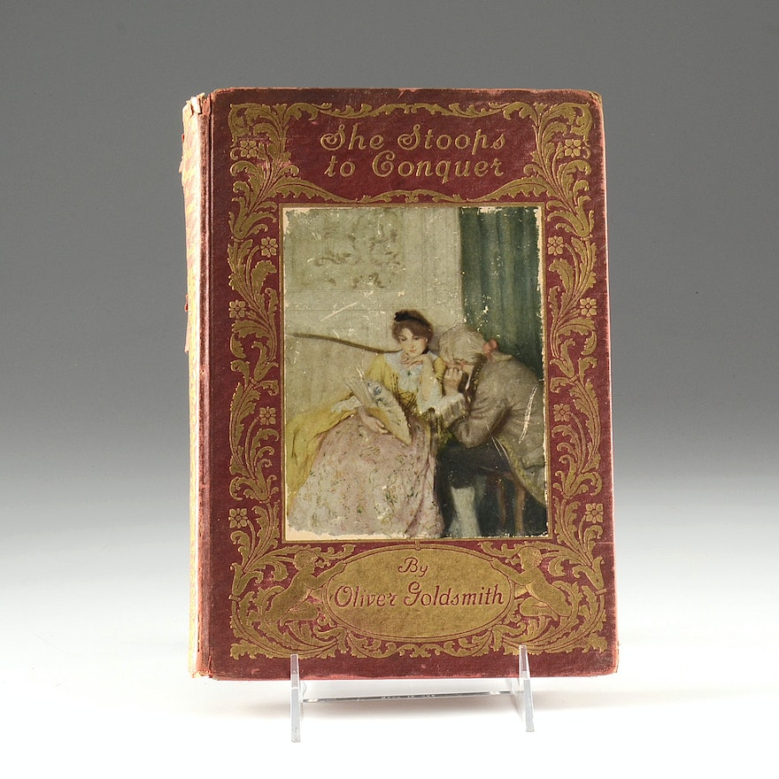 Antique She Stoops To Conquer Book Ebth