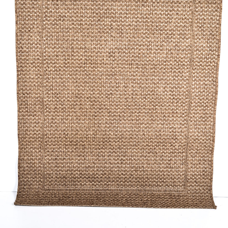 Crate And Barrel Savannah Cane Indoor Outdoor Area Rug Ebth
