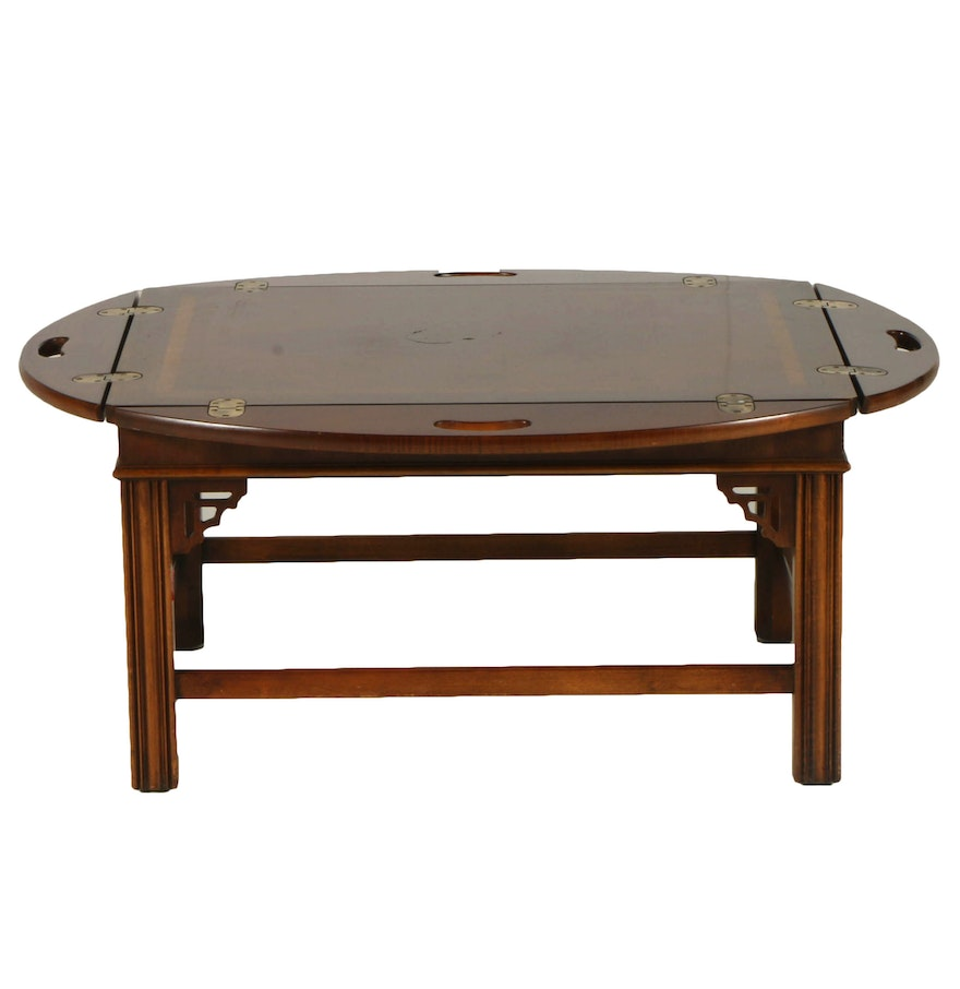 Butler Tray Coffee Table By Lane Furniture Ebth