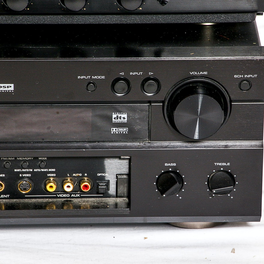 marantz yamaha receivers and bowers wilkins speaker ebth