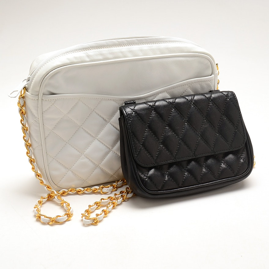 Walter Katten Quilted Italian Leather Bags