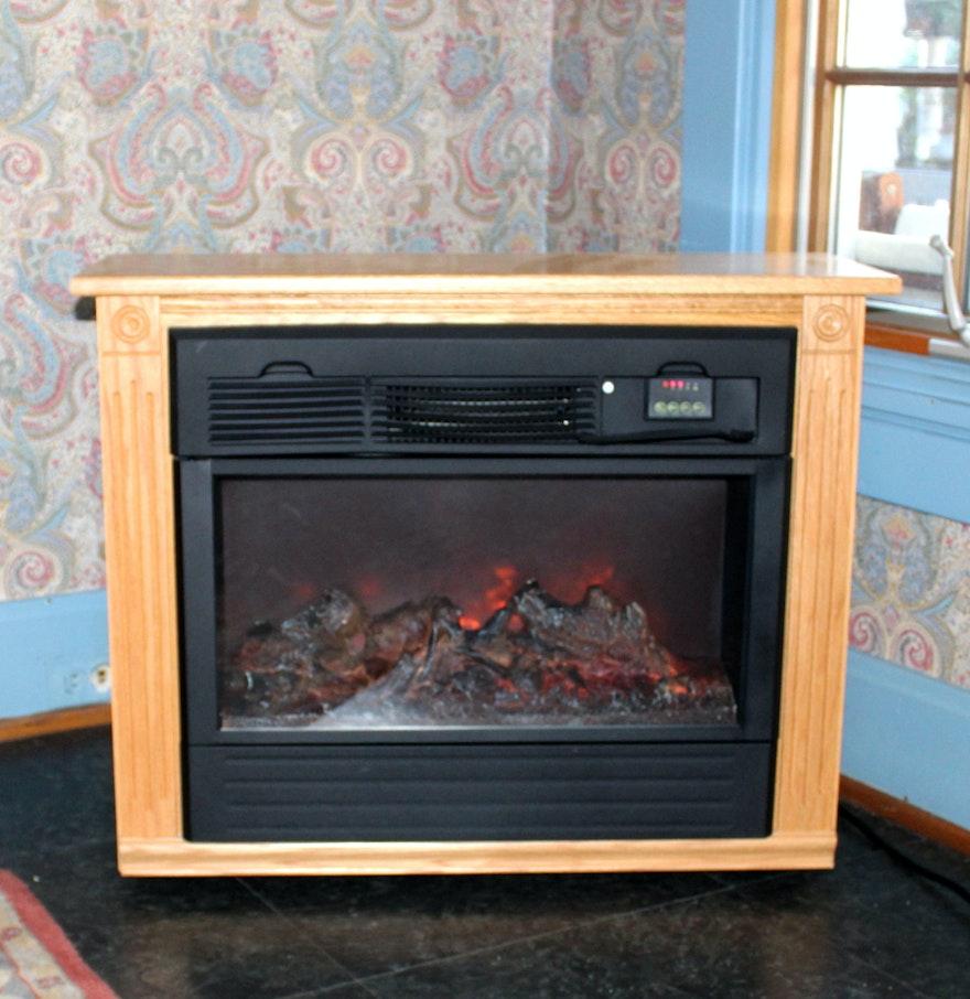 Heat Surge Electric Fireplace Ebth