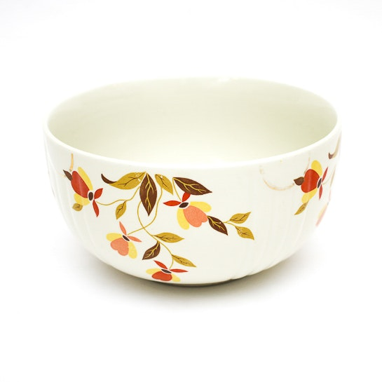 Vintage Halls Superior Ceramic Mixing Bowl