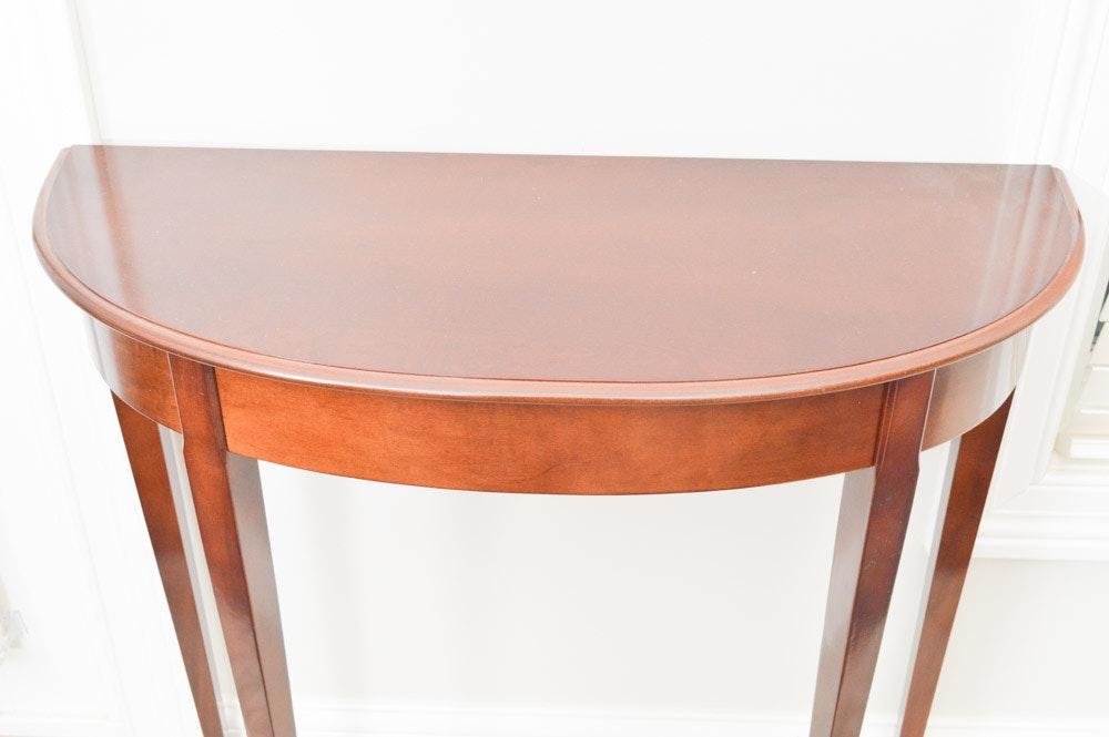 Bombay Company Mahogany Veneer Accent Furniture Ebth