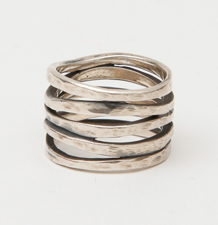 sterling silver multi band ring by james avery james avery wedding bands Sterling Silver Multi Band Ring By James Avery