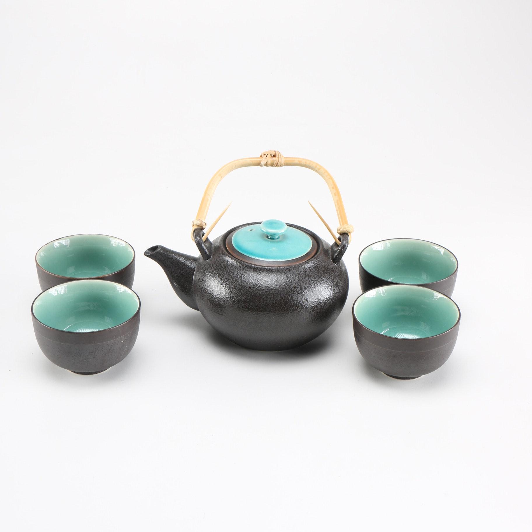 Great Miya Japanese Ceramic Tea Set ...