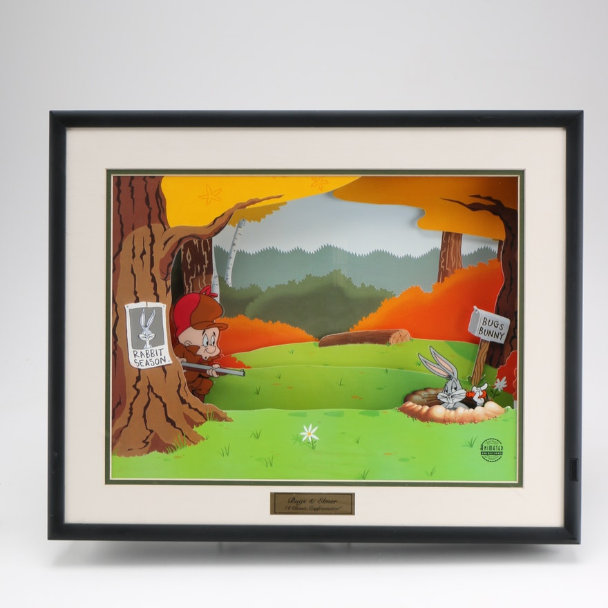 Looney Tunes Animated Wall Art \