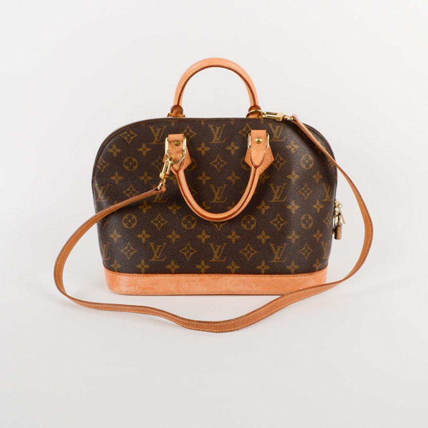 6f53bf6ebe Louis Vuitton Monogram Handbag   EBTH