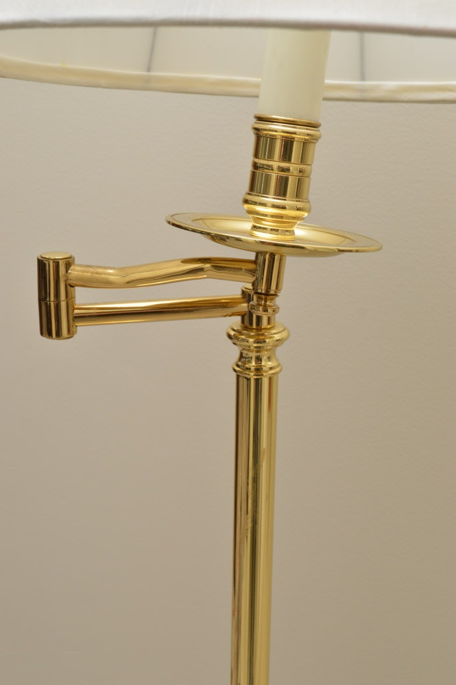 Baldwin brass floor lamp and more ebth for Baldwin brass floor lamp shades