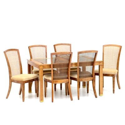Smith Dining Room Furniture as well 291900085837 moreover Henredon Dining Room Chairs together with 2539246 Henredon Dining Table With Two Leaves And Six Chairs also 134756213823248419. on baker mahogany dining room set