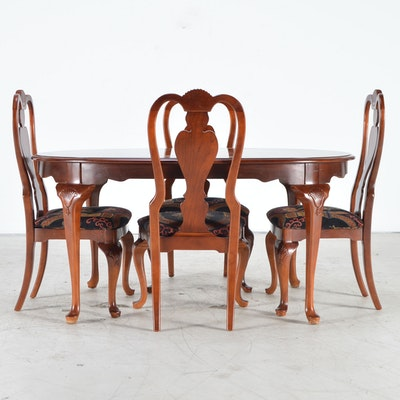 Thomasville Queen Anne Style Dining Chairs EBTH