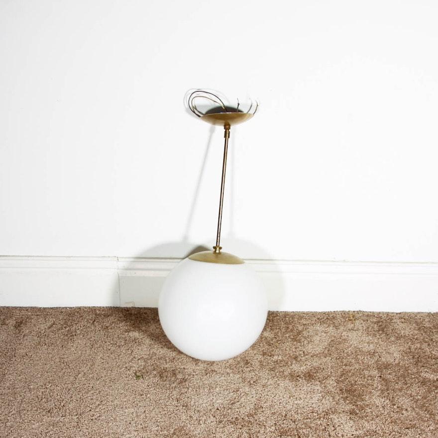 Mod Style Hanging Globe Light Fixture : EBTH