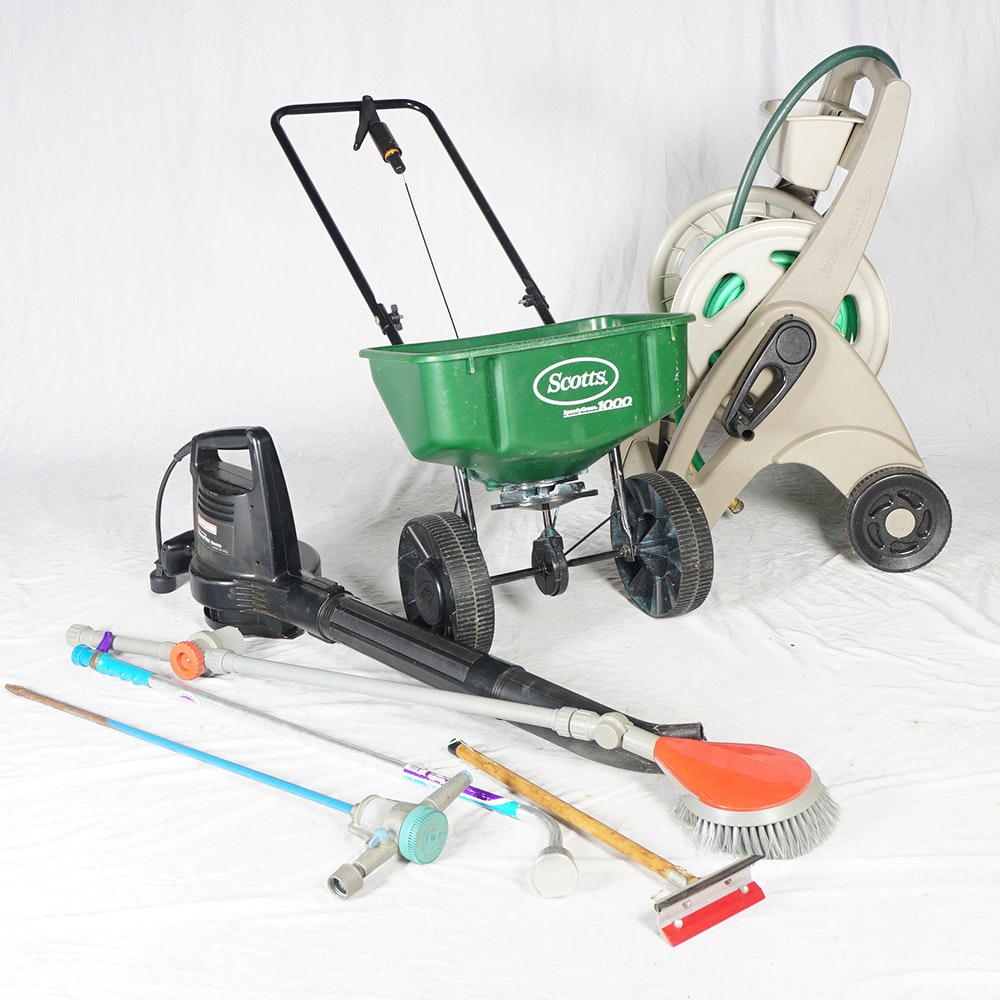 Lawn and garden equipment ebth for Lawn and garden implements