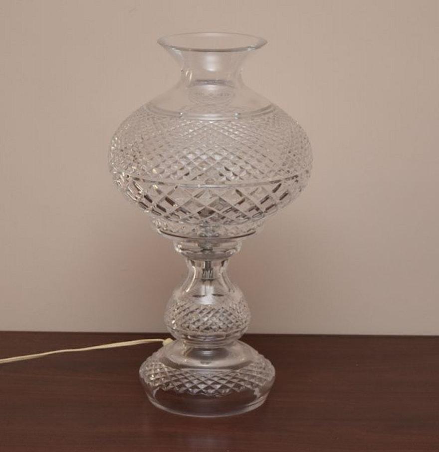 Vintage crystal table lamp - Vintage Crystal Table Lamp