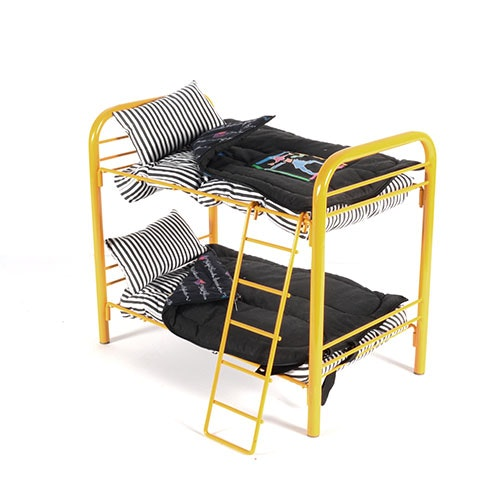 American Girl Doll Today Yellow Metal Bunk Bed Ebth