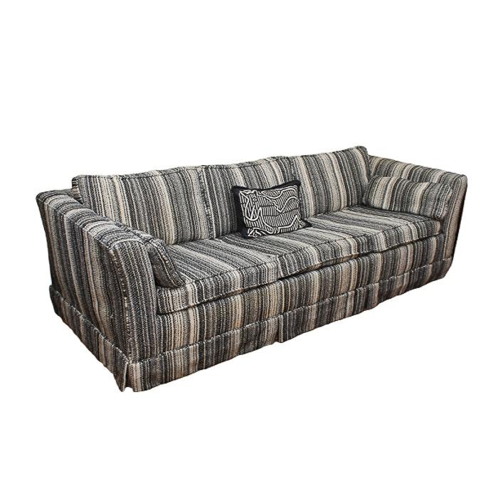 Contemporary Leopard Print Sleeper Sofa by La Z Boy EBTH