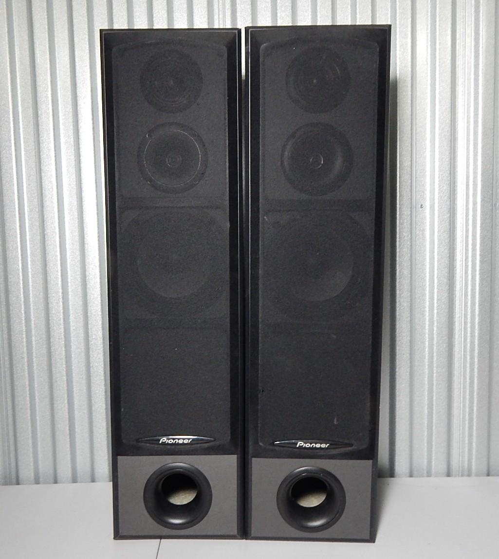 pioneer floor speakers. pioneer floor speakers - model s-h352-k