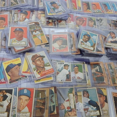 Vintage Trading Card Auctions Trading Card Collections For