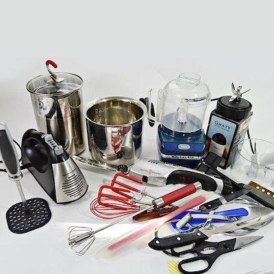 Kitchen Gadgets Appliances And Utensils