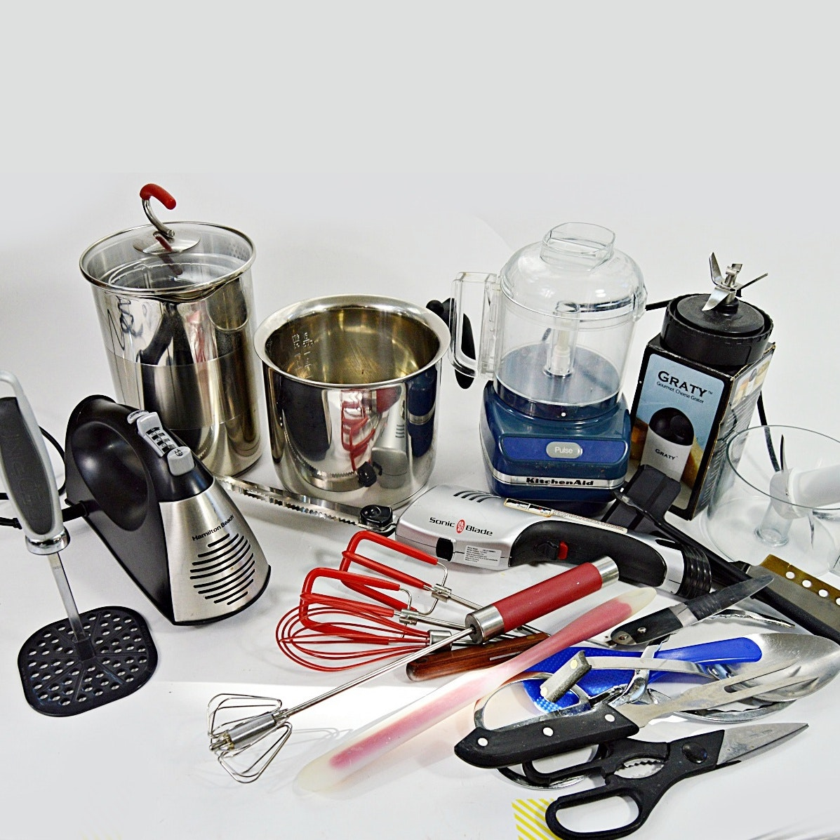 Kitchen Gadgets, Appliances And Utensils