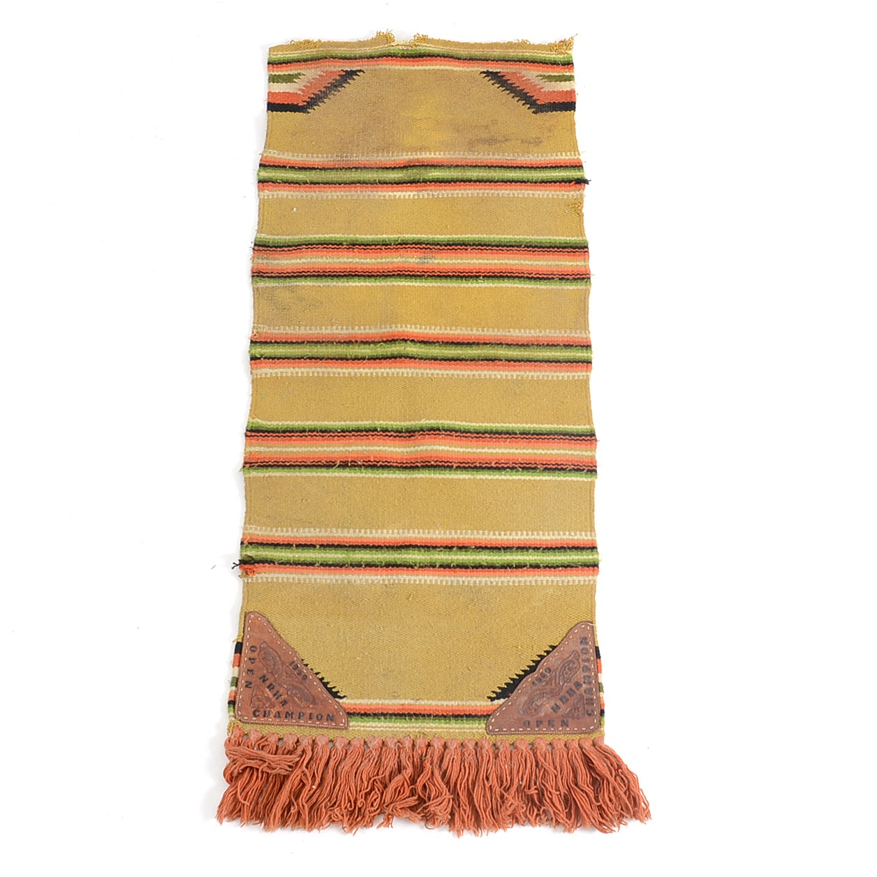 Churchill Weavers Hand Woven Wool Blanket Ebth