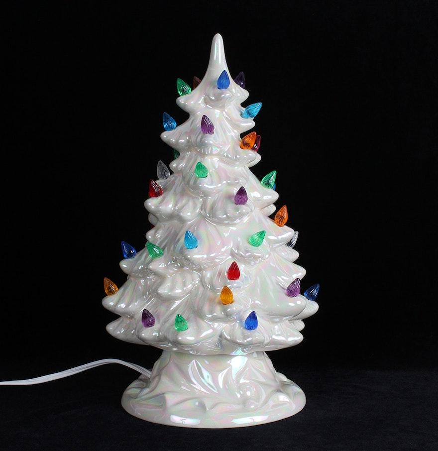 Holland Mold Lighted Ceramic Christmas Tree : EBTH