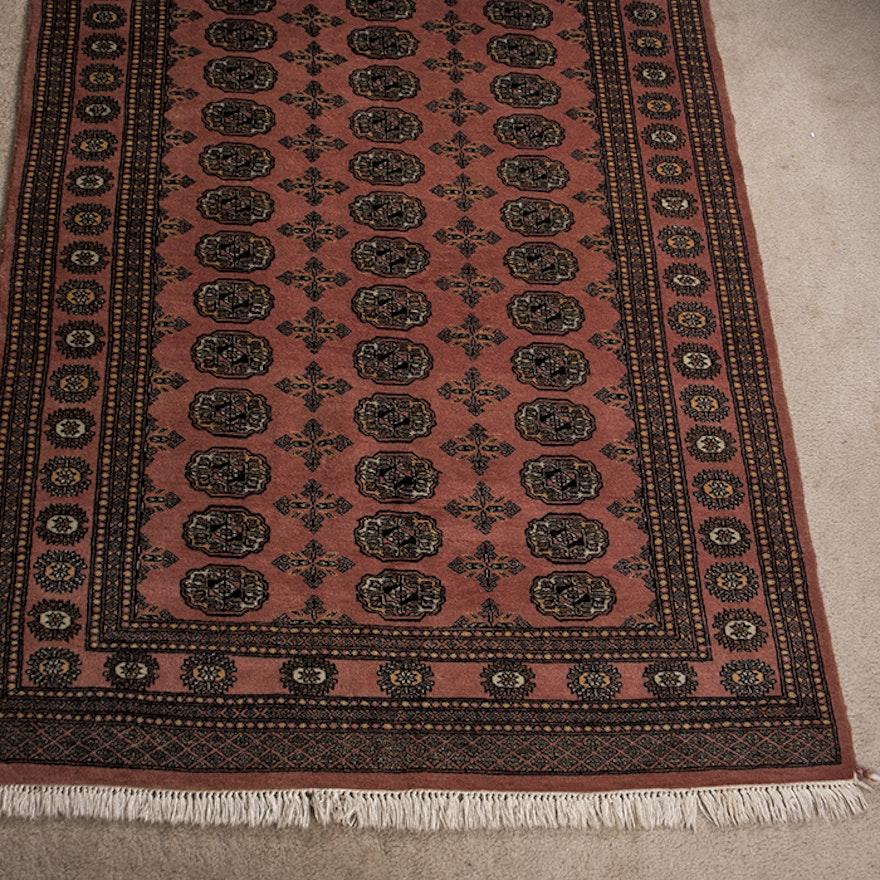 Persian Hand Woven Bakhtiari Style Wool Area Rug Ebth: Handwoven Pakistani Bokhara Wool Rug