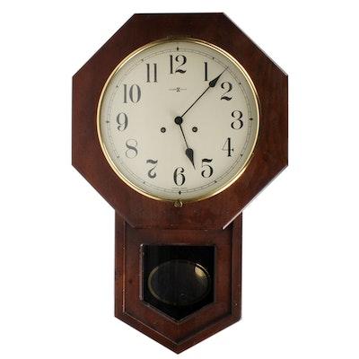 seth thomas railroad regulator wall clock ebth
