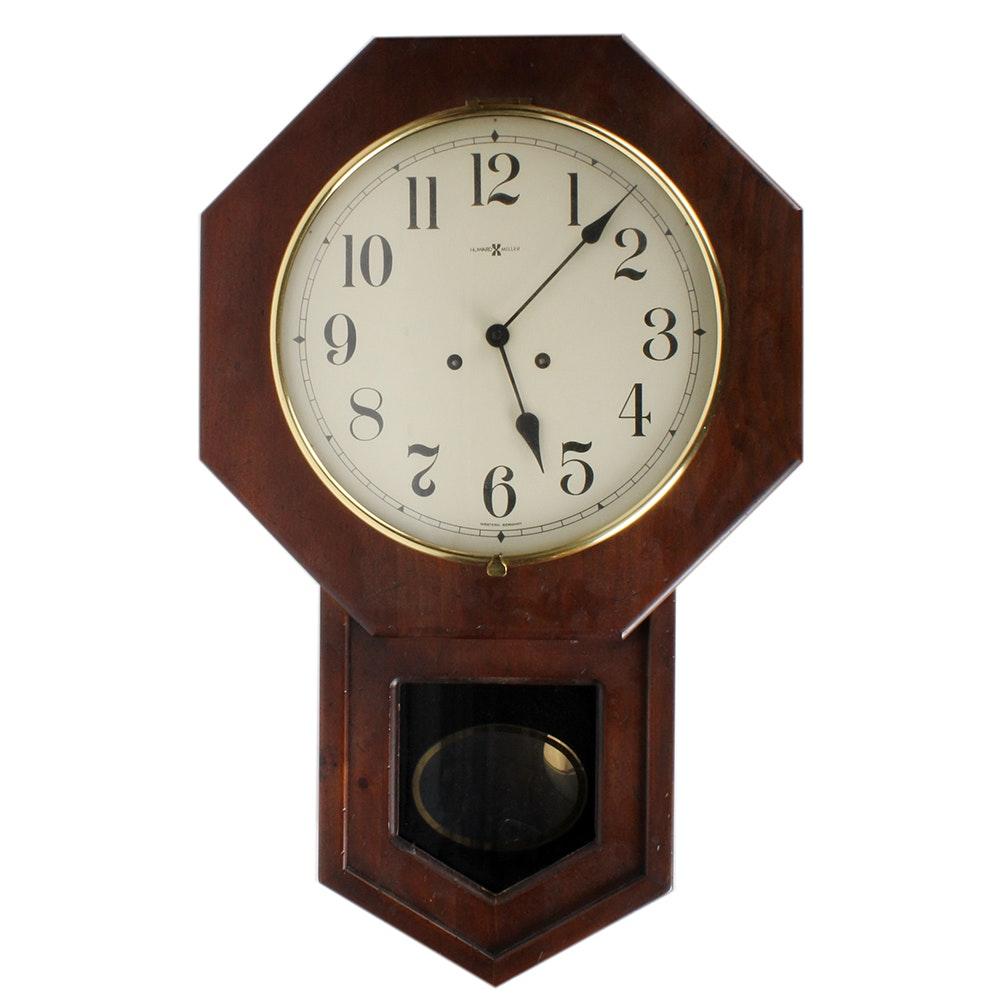 Howard miller wall clocks gallery of george nelson howard miller vintage howard miller regulator wall clock amipublicfo Gallery