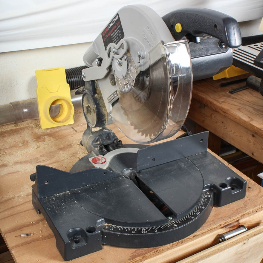 Sears Craftsman 8 25 Inch Compound Miter Saw Ebth