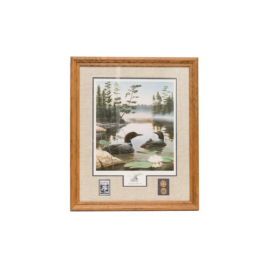 Stans Auto Sales >> Ducks Unlimited Limited Edition Leo Stans Print | EBTH