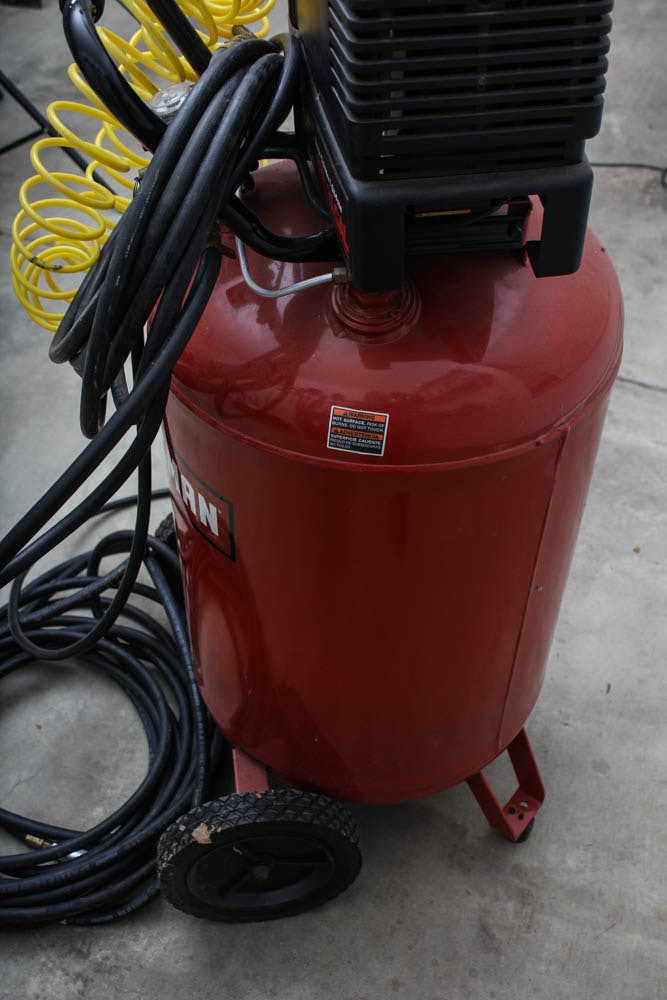 How To Read Tire Size >> Craftsman 6 HP 30 Gal Air Compressor | EBTH