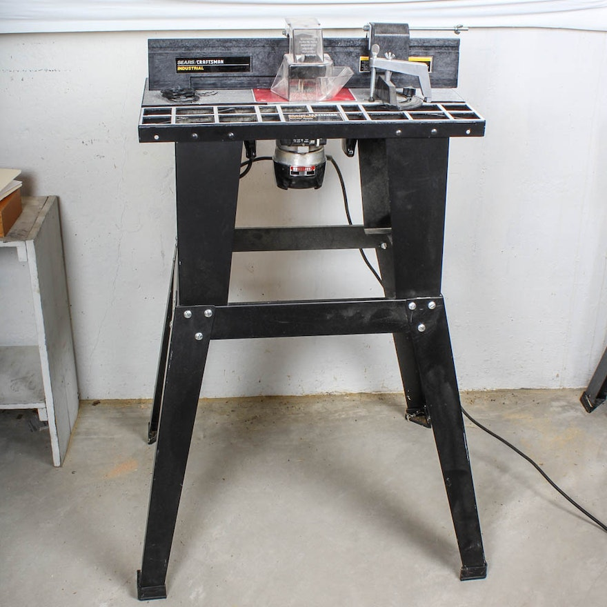 Sears Craftsman Router With Table And Stand