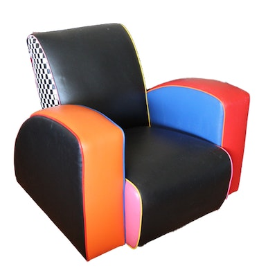 Harry Siegel Memphis Inspired Arm Chair