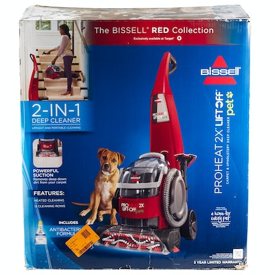 bissell vac and steam instructions