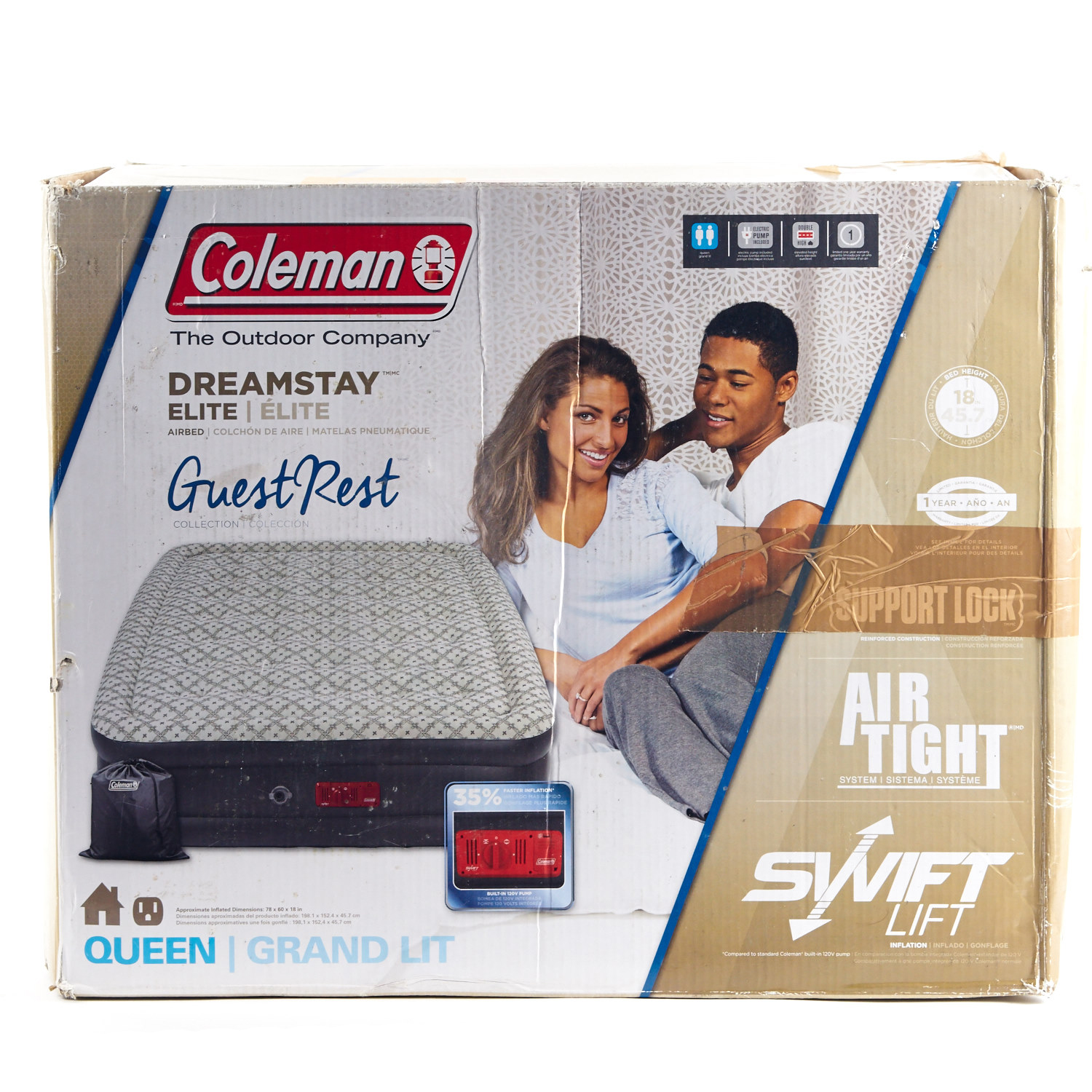 queen size air mattress coleman. Coleman \ Queen Size Air Mattress
