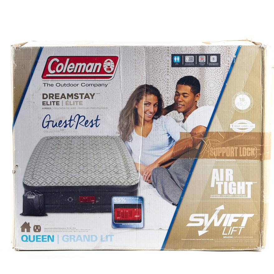 Coleman Dreamstay Elite Queen Size Air Mattress Ebth