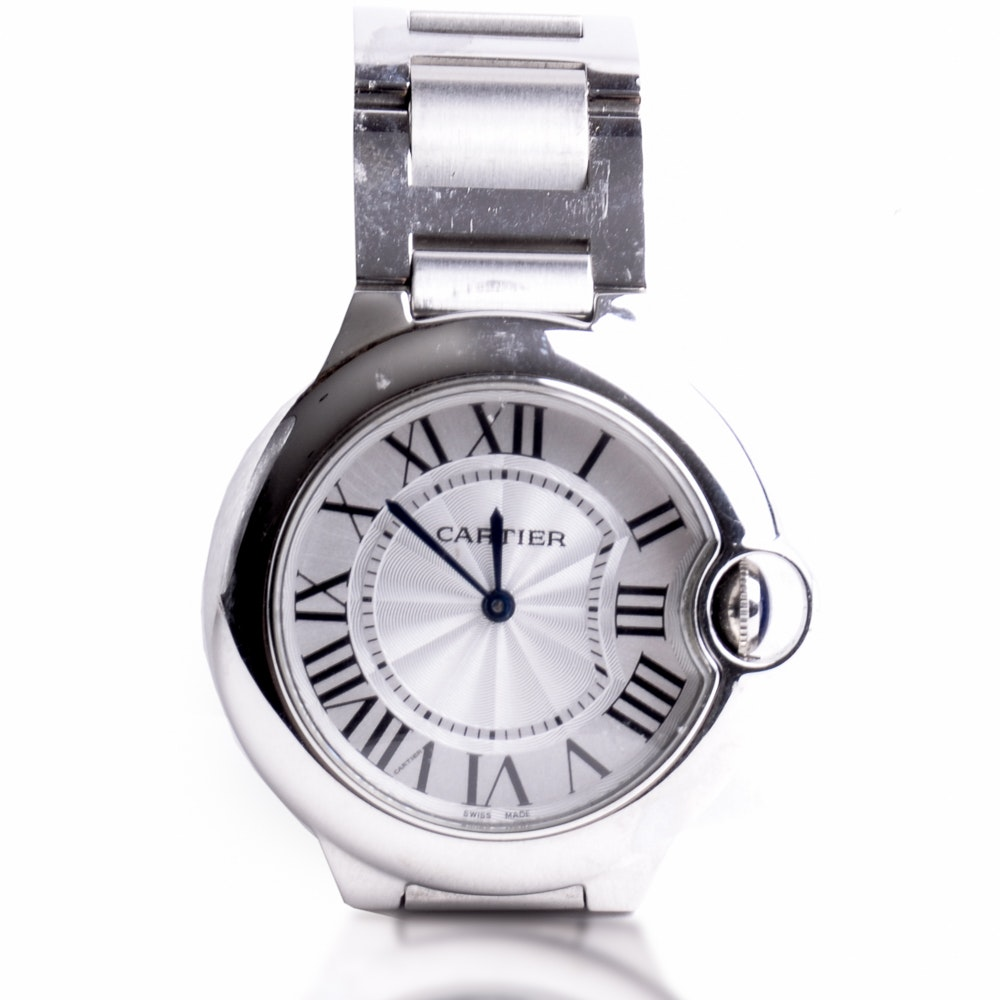 Woman's Cartier Ballon Bleu Wristwatch