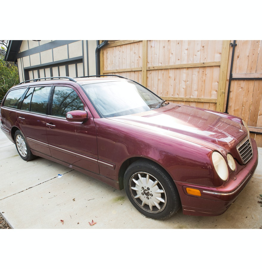 2000 mercedes benz e320 wagon ebth for 2000 mercedes benz e320 wagon
