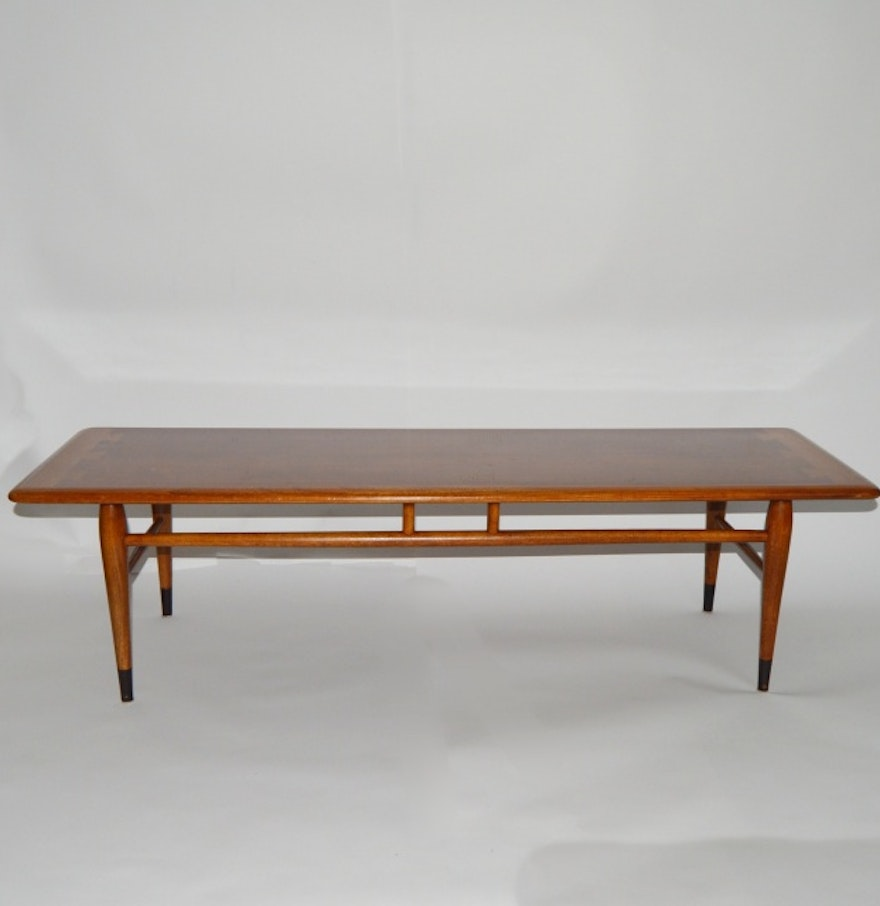 Mid Century Modern Lane Acclaim Dovetail Coffee Table Ebth
