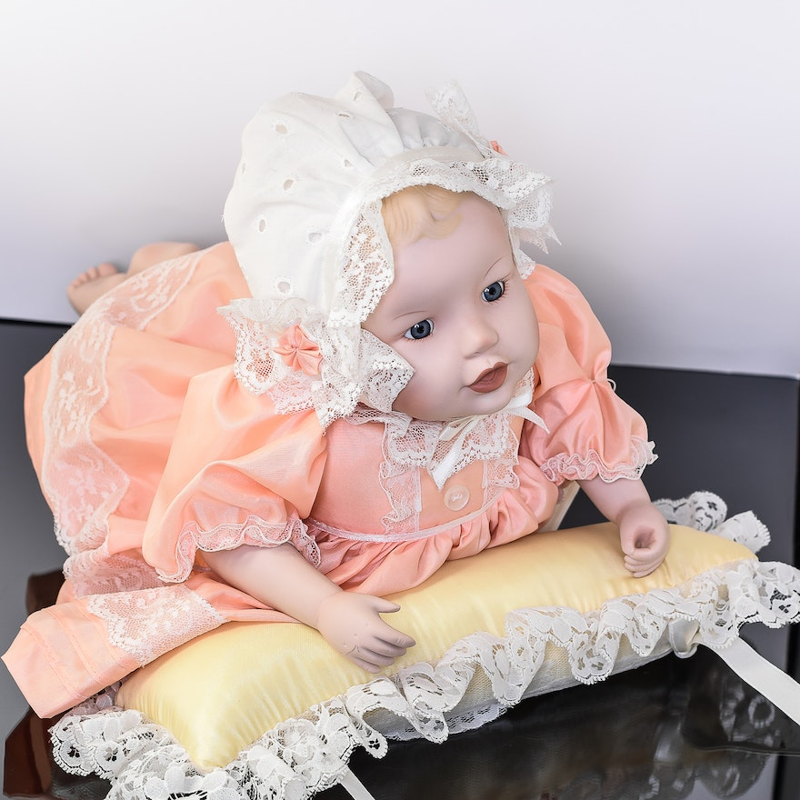 Heather Doll From Yolandas Picture Perfect Babies Collection Ebth