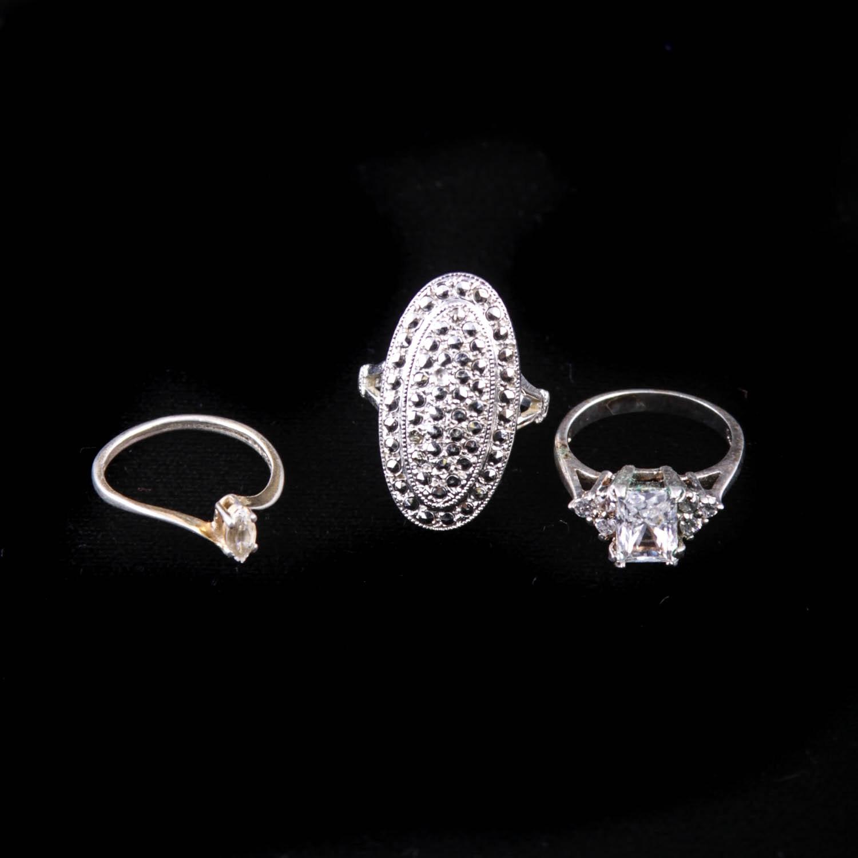 sterling silver fashion rings ebth