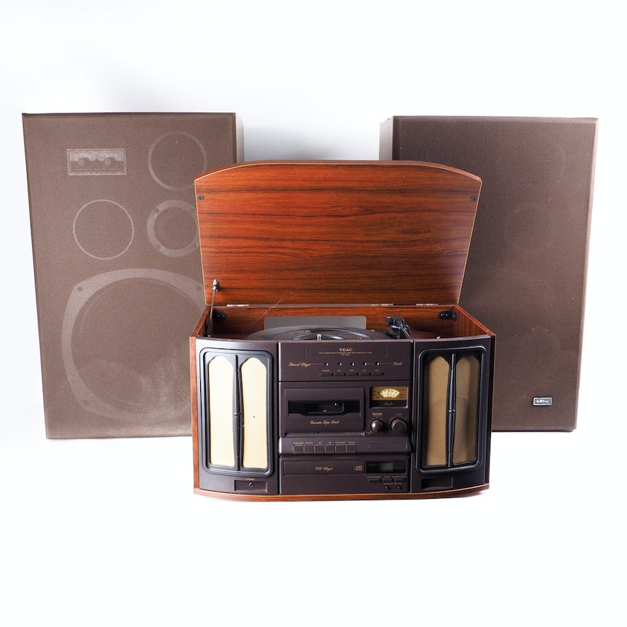 TEAC GF-200 Compact Hi-Fi Stereo System With LXI Floor Speakers