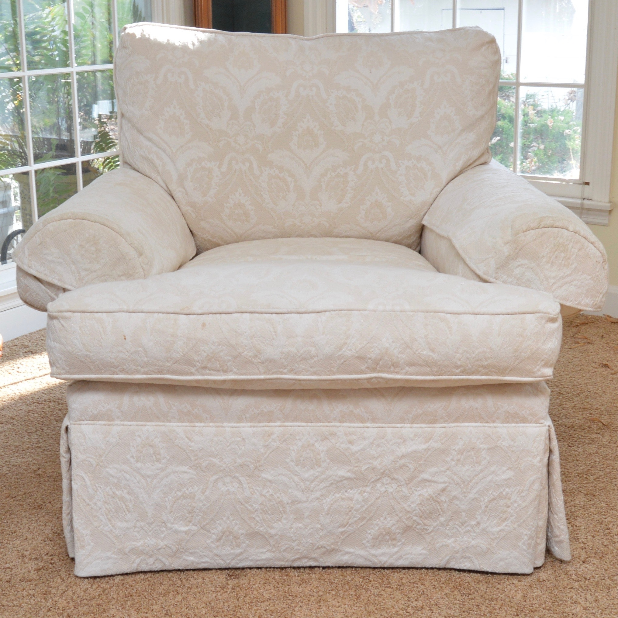 Damask Ultra Plush Armchair By Henredon Furniture ...